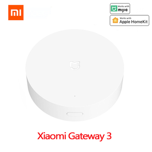 Xiaomi Multimode Smart Gateway 3 ZigBee WIFI Bluetooth Mesh Hub Work With Mijia Apple Homekit Intelligent Home Remote Control