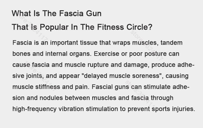 YUNMAI Massage fascia gun Slim Chic