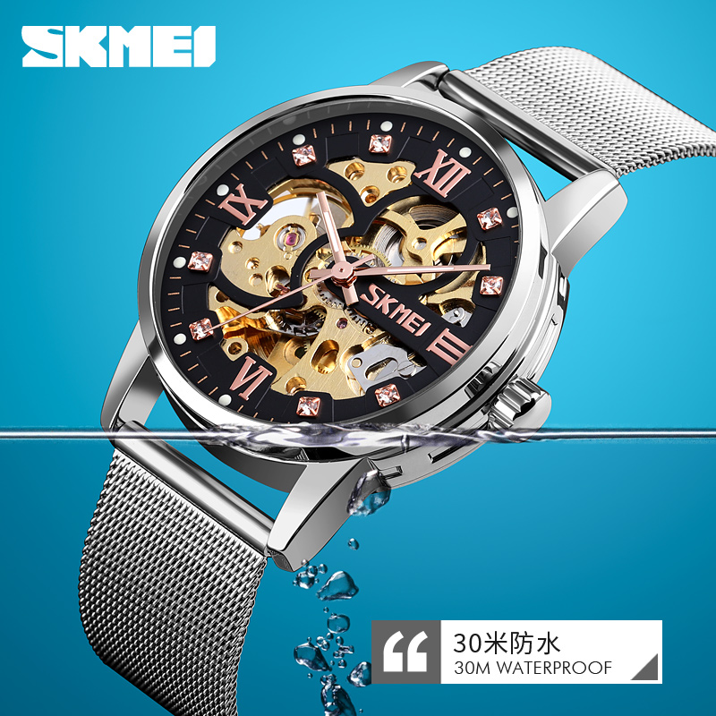 Relogio, Mechanical, Gold, Luxury, Skeleton, Man
