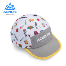 Hat Sports-Cap Trail Running AONIJIE Foldable Quick-Drying Soft Sunshade for Outdoor