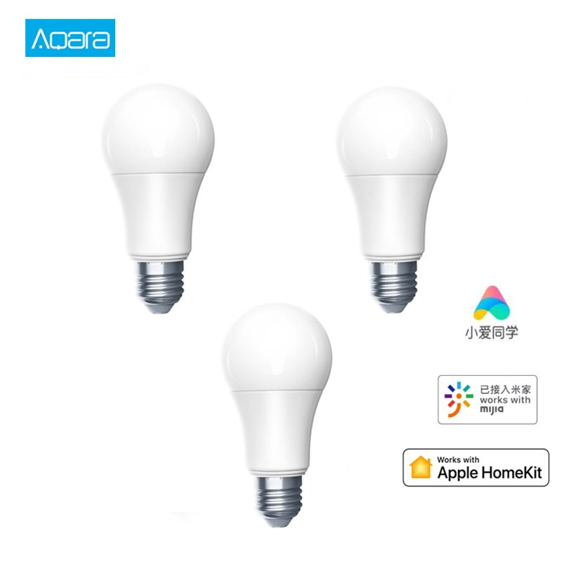 Aqara LED Smart Bulb 9W E27 LED Light Zigbee Wireless Connection Smart Remote Control With Home Kit And Mi Home APP