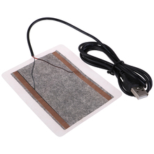 Portable Heater-Plate Electric-Heating-Pads Mouse-Pad Usb-Warmer Winter for Shoes Golves