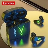 Lenovo LP6 auricolari Bluetooth 5.0 cuffie Wireless TWS cuffie da gioco con riduzione del rumore intelligente a doppia modalità a bassa latenza