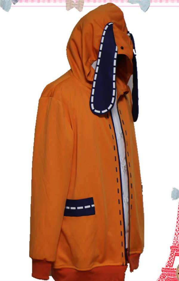 Quente legal cosplay traje anime kakegurui yumeko jabami japonês uniforme escolar runa yomo tu linda casaco com capuz e peruca