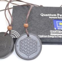 Цветок жизни квантовый скалярный энергетический кулон 5000~ 6000 ионов с тестовым видео с картой для каждого кулона