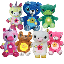 Starlight Belly Dream Lights Baby Peluches Comforting Soft Bebe Toys Plush Kawaii Plushie Gifts for Kids