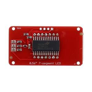 Image 5 - LEORY 3/5/10 stücke 4 bit 0,56 Zoll 7 segment LED Digital Rohr Modul I2C Control 2 linie control HT16K33 LED Display Modul