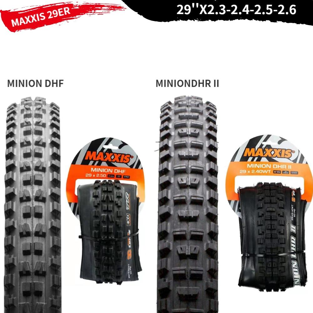 All Sizes Maxxis Minion DHR II DH Mountain Bike Tyre
