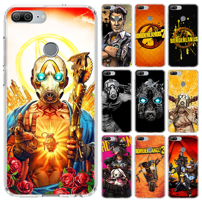 Video game <font><b>Borderlands</b></font> Case For Huawei Honor 10 9 Lite Y5 Y6 Y7 Y9 2019 9X 8X 8S 8A Pro 7A 10i 20 Nova 6E V30 Phone Coque Cover image
