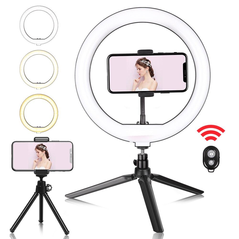 Light-Lamp Table-Tripod Video-Ring Phone Studio Selfie Led Youtube Photo Live-Tiktok