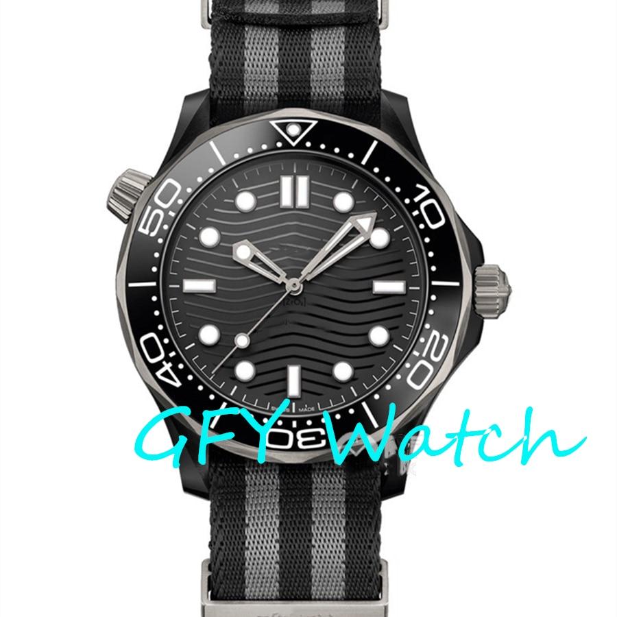 Men's automatic mechanical watch 210.92.44 SS 1: 1 major global brand NATO military strap, MIYOTA, VS factory 8800 movement