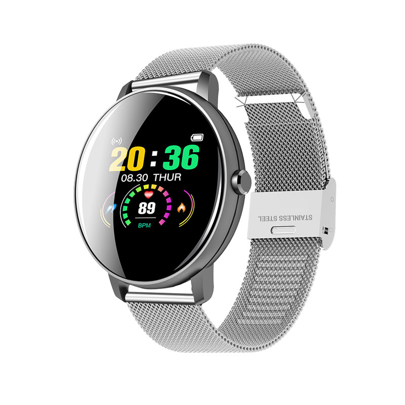 H2daba99a514044d3a863a8a04c2d88e1S 2020 Full Touch Smart Watch Men Blood Pressure Heart Rate Monitor Round Smartwatch Women Waterproof Sport Clock For Android IOS
