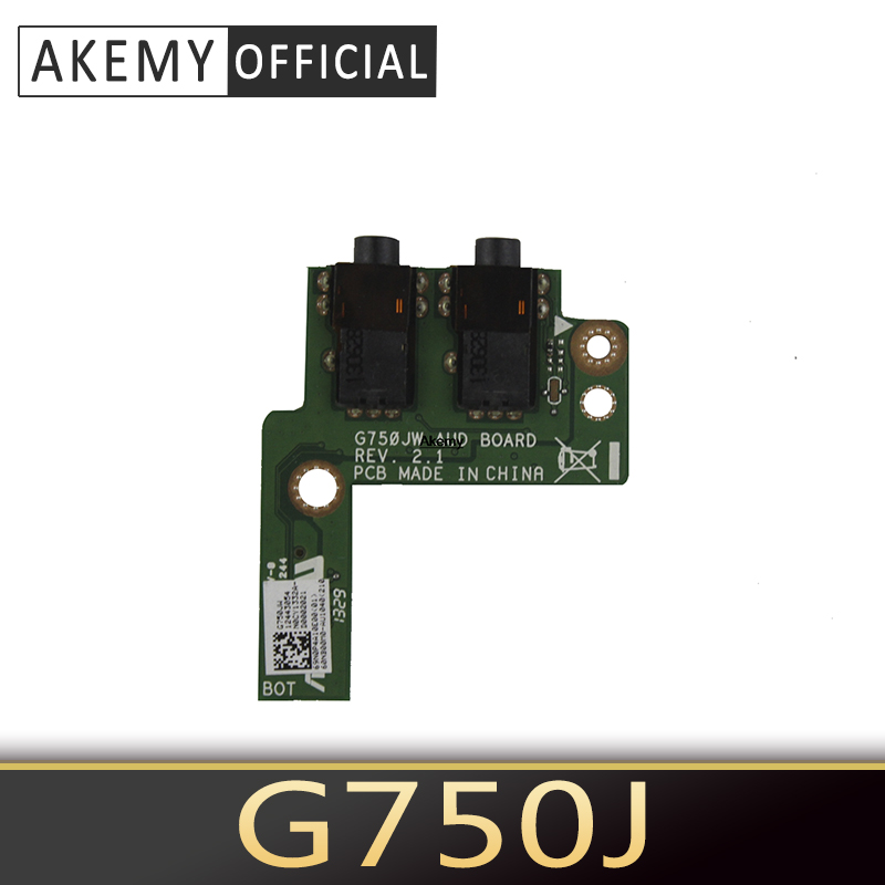 For <font><b>Asus</b></font> <font><b>ROG</b></font> G750 G750J <font><b>G750JX</b></font> G750JH G750JM G750JW G750JS G750JZ AUD Board Audio board free shipping image