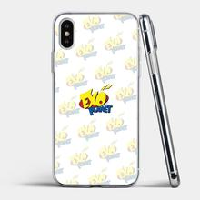 For Samsung Galaxy A10 A30 A40 A50 A60 A70 S6 Active Note 10 Plus Edge M30 Best Silicone Phone Case yellow kpop EXO power logo(China)
