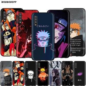 Webbedepp Naruto Pain Case for Samsung Galaxy S7 S8 S9 S10 Plus Edge Note 10 8 9 A10 A20 A30 A40 A50 A60 A70(China)
