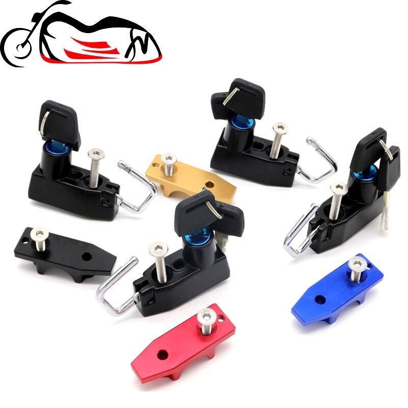 Motorcycle Helmet Lock For HONDA CB150R CB300R CB300F CB500F CB500X CB650F CB 500F/X Accessories Handlebar Handle Bar Clamp