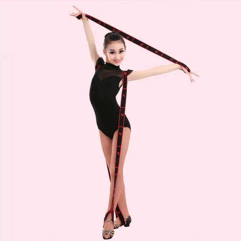 Pas do jogi profesjonalne artykuły gimnastyczne dorosła dziewczyna łaciński trener rozciągające się oporowe paski pas treningowy Fitness gumka
