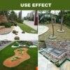 10cm 15cm 10m Grass Edging Fence Belt Border Plastic Garden Lawn Stone Isolation Path Barrier Garden Patio Greening Belt 32ft flash sale
