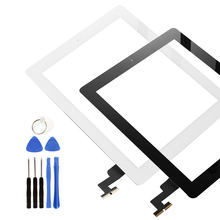 9.7 Inch Touch Screen For iPad 2 A1395 A1396 A1397 Touch Panel LCD Outer Display Replacement Digitizer Sensor Glass