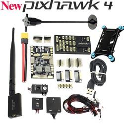 Nowy kontroler lotu Pixhawk PX4 PIX 2.4.8 + telemetria + GPS M8N + Minim OSD + PM + przełącznik bezpieczeństwa + brzęczyk + PPM + I2C + tablica APM + uchwyt na GPS w Części i akcesoria od Zabawki i hobby na