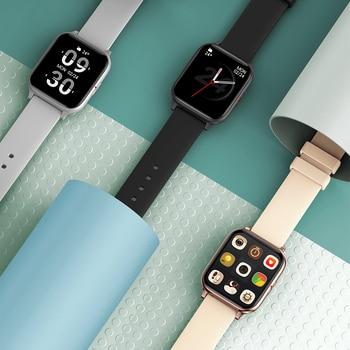 COLMI P8 Mix 1.69 Inch Smart Watch Men Heart Rate Monitor IP67 Waterproof Women Smartwatch Fitness Tracker for iPhone Plus 6