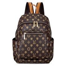 цена на 2018 New style backpack women's versatile Stylish large-volume printed sling bag crossbody bag casual travel bag STUDENT'S bag w
