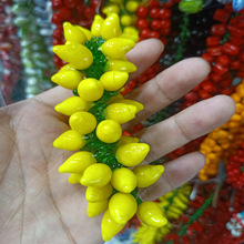 Lampwork Beads Pendants Fruits Vegetables Jewelry-Making Loose for DIY Cherry/gourd 100pcs