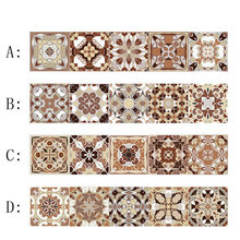 Керамическая плитка наклейка старомодная для лестницы самоклеящаяся