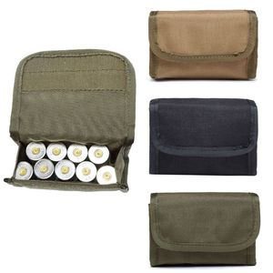 Tactical 10 Rounds Shotshell Reload Holder Molle Pouch for 12 Gauge/20G Magazine Ammo Round Cartridge Holder Tactical Pouch 11