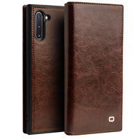 Retro Wallet Card Slot Case for Samsung Note 10 Plus Case High end Genuine Leather Cover For Samsung Galaxy Note 10 Plus 5G Capa