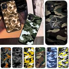 Reayou Camouflage Militaire Telefoon Case Cover Voor Iphone6 6S Plus 7 8 7 8 Plus X Xr Xs Max 11 Pro Max Cover(China)