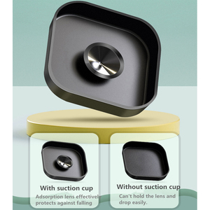 Image 3 - 9 ใน 1 ชุดซิลิโคนกรณีเลนส์ป้องกันกระจกนิรภัยป้องกันฟิล์มสำหรับ GoPro HERO 8 Action กล้องอุปกรณ์เสริม