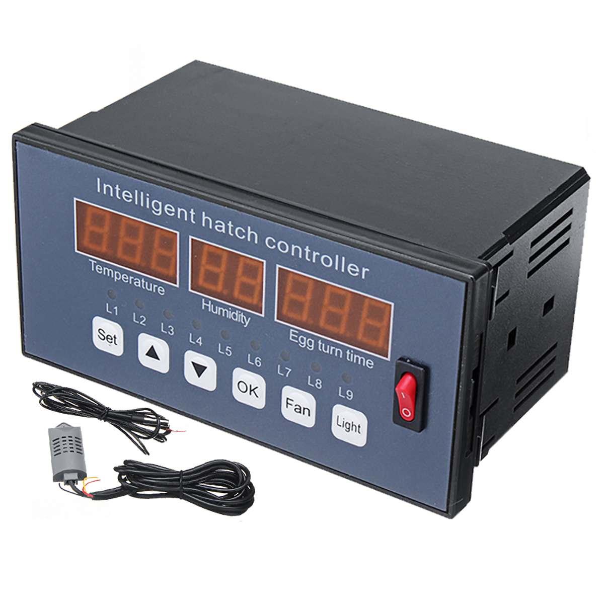 Régulateur de température numérique AC180 ~ 240V Thermostat thermorégulateur Aquarium incubateur chauffe-eau régulateur de température