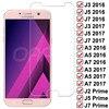 9H Anti-Burst Tempered Glass For Samsung Galaxy J3 J5 J7 A3 A5 A7 2016 2017 J2 J4 J7 Core J5 Preme S7 Screen Protector Glass 1