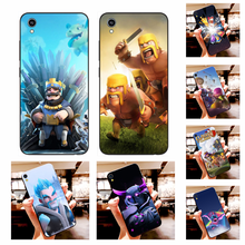NBDRUICAI clash of clans Cover Black Soft Shell Phone Case For Vivo Y91c Y17 Y51 Y67 Y55 Y93 Y81S Y19 Y7S Case(China)