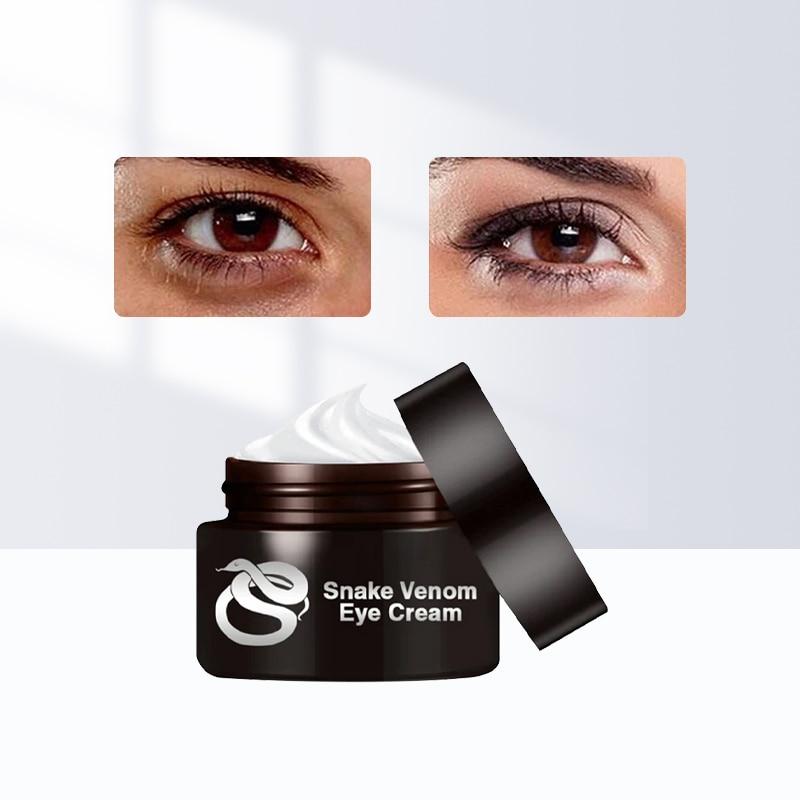 Snake Venom Eye Cream Dark Circle Eyes Bags Fat Granule Eye Care Essential Cream Anti-Aging Anti-Puffiness Moisturizing Eye Mask 1