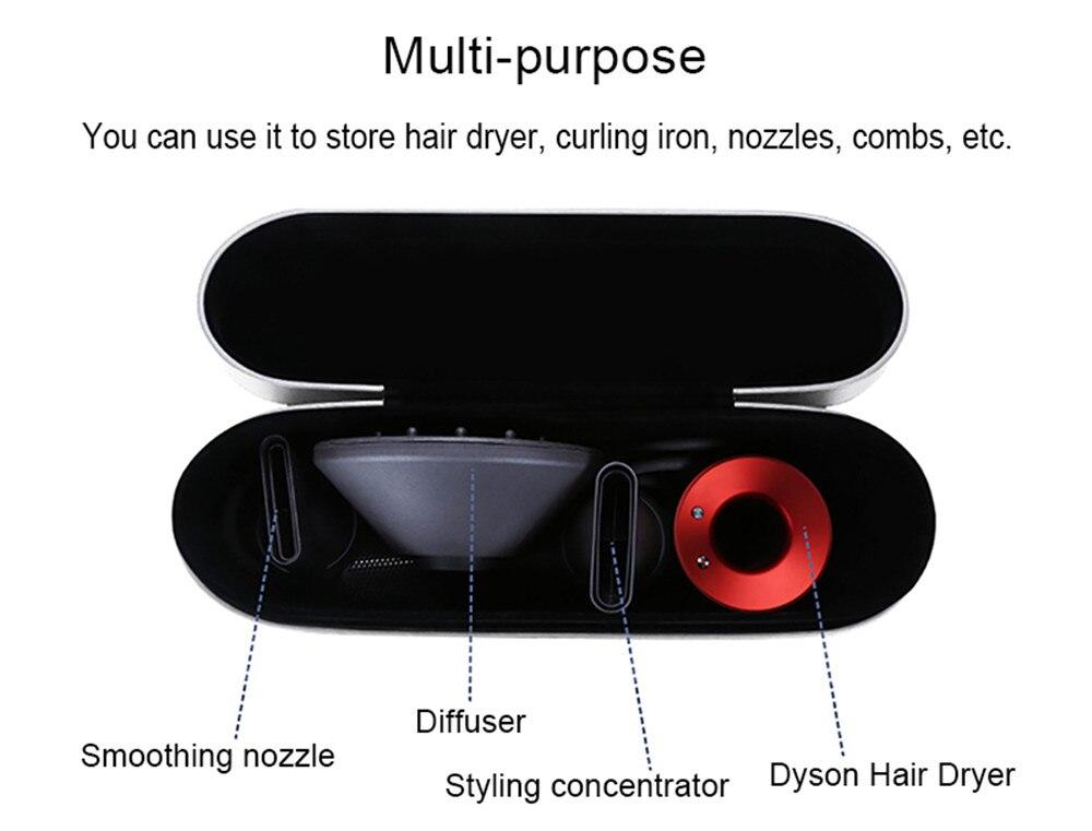 Dyson caso de cabelo armazenamento capa de