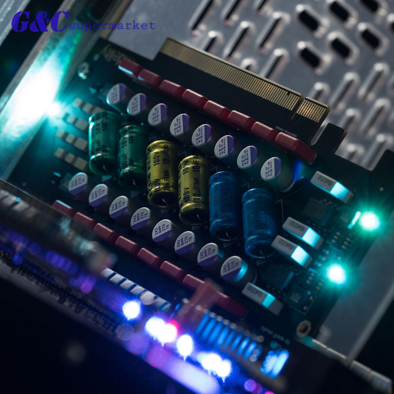 1PCS Elfidelity PC HI-FI Power Filter Card PCI / PCI-E HiFi PC Audio Power Purification Electronics Electronics Accessories