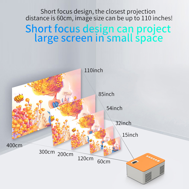Hd mini uc28d 16.7m projetor de vídeo portátil cinema em casa escritório supplie suporte móvel filme jogo lcd proyector-2