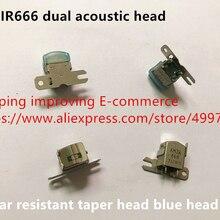 Горячая точка Япония Импорт 250ohm AMIR666 двойная акустическая головка износостойкая коническая головка синяя головка датчик переключатель