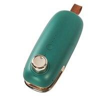 USB Aufladbare Elektrische Abdichtung Maschine Mini Tragbare Drücken Kunststoff Tasche Heizung Sealer 3 Gang Anpassung Öffnen/Dichtung Taschen