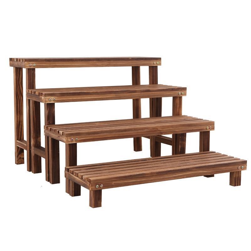 Etagere Pour Plante Plantenrekken For Estanteria Escalera Wood Balkon Stojak Na Kwiaty Plant Rack Balcony Shelf Flower Stand