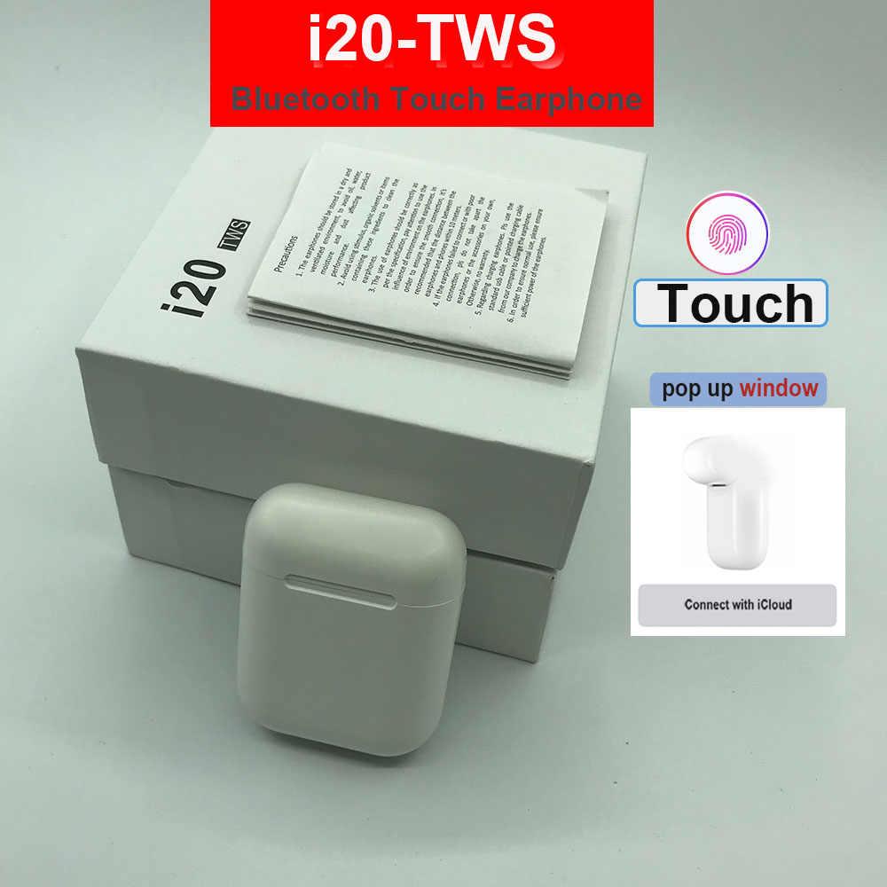 i20 i14 TWS 5.0 Bluetooth Earphones i7s i11 tws Earbuds Wireless headset PK w1 chip i30 LK TE9 LK-TE9 Headphone for phone