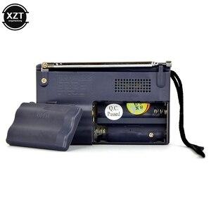 Беспроводной мини радио AM FM приемник телескопическая антенна мини портативный карманный динамик MP3 музыка на открытом воздухе аккумуляторная батарея плеер