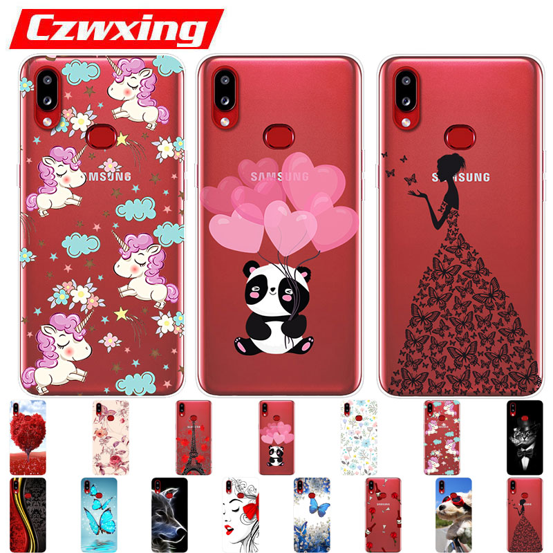 For Samsung Galaxy A10S Case Silicone TPU Cover Soft Phone Case For Samsung A10S <font><b>A107F</b></font> A107 A 10S SM-<font><b>A107F</b></font> A10 A30S A50S Case image