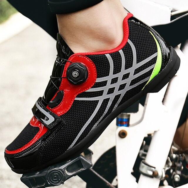 Cungel tênis profissional auto-travável, sapatos masculinos e femininos para ciclismo de montanha, mtb, calçados de corrida, mountain bike, profissional 2