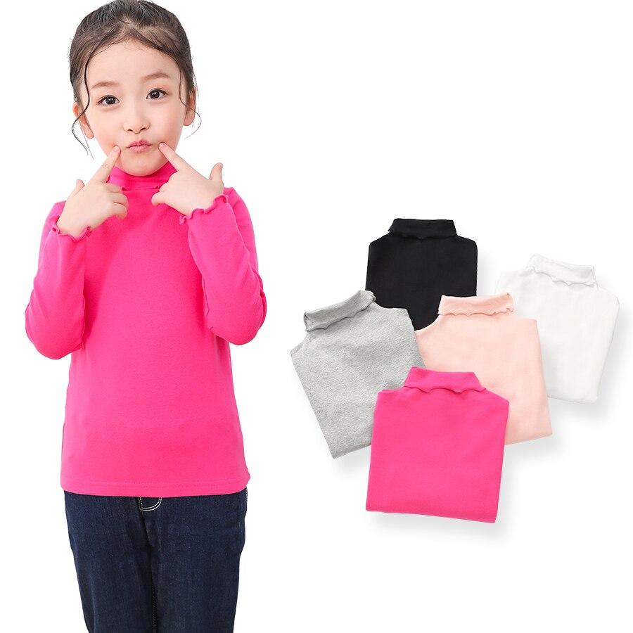 SheeCute Full Sleeve Girls Tops Tees Kids Cotton O-Neck T Shirt SC6090