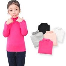 SheeCute Spring Winter Girls Full Sleeve  Cotton O-Neck Tops Tees SC6090