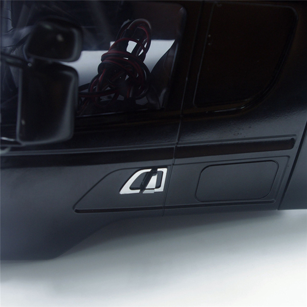 Left & Right Car Door Handle Sticker For TAMIYA 1/14 SCANIA 620 470 RC Car Shell Upgrade Parts Handle Mirrored Metallic Sticker