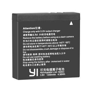 Image 4 - 2 Chiếc Ban Đầu AZ16 1 Pin Cho Xiaomi YI Lite 4K 4K + + Màn Hình LCD USB Sạc Đôi Cho xiaoyi Camera Hành Động Thứ Hai 1200MAh 3.85V